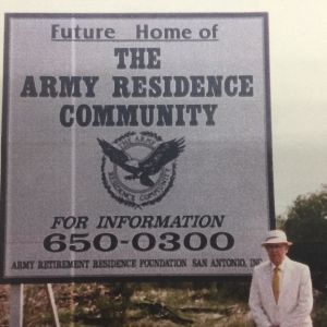 In  The Army Residence Community Arc Began As The Vision Of Three Retired Army Officers Mg William L Starnes Mg Donnelly P Bolton And Mg George