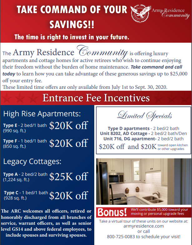 July Incentives